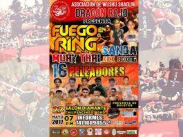 Con gran expectativa, pobladores de Chilpancingo, esperan llegue la fecha de 'Fuego en el Ring', el primer evento de peleas entre diferentes técnicas marciales sobre un ring, el cual se realizará el próximo sábado 27 de mayo en la capital guerrerense.