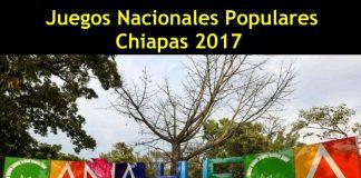 Chiapas será el estado seleccionado para la realización de los Juegos Nacionales Populares 2017 (JNP2017), en cuyo calendario de actividades contempla Artes Marciales (wushu), más otras tres disciplinas deportivas, pero donde no se incluye la participación de Limalama.