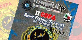 Todo está listo para que el próximo sábado 1 de julio se celebré la 'II Copa Sport Fighter Team #1 of Lima Lama 2017', en donde está confirmada la participación de más de 1600 atletas de todo el país y Estados Unidos.