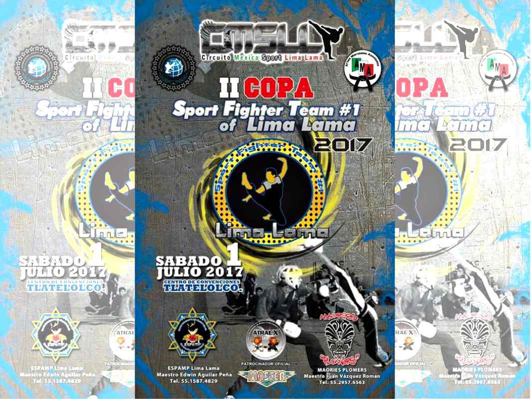 Atletas de México y Estados Unidos se preparan para participar en la 'II Copa Sport Fighter Team #1 of Lima Lama 2017', con la que se pretende dar mayor proyeccióna la disciplina en todo el país.