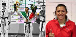 El taekwondoin Carlos Navarro conquistó la primera para México en el Campeonato Mundial de Taekwondo Muju 2017, donde la triple medallista olímpica, María del Rosario Espinoza, ya tiene asegurada una de las tres medallas de primeros lugares, al llegar a semifinales de las competencias que se realizan en Corea del Sur.