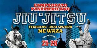 La Ju-Jitsu International Federation (JJIF) dio a conocer el póster oficial del próximo Campeonato Panamericano 2017, en donde se confirma a la Ciudad de México (CDMX) como sede de este evento continental que otorgará puntos rumbos a los World Games 2021.