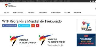 La World Taekwondo Federation (WTF) cambió su nombre por World Taekwondo (WT), con lo que se espera terminar con la mala interpretación de las anteriores siglas del organismo que rige la disciplina marcial.