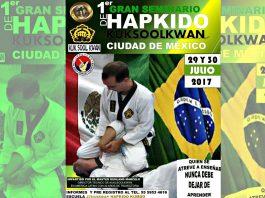 Todo está listo para que la organización internacional Hankook Hapkido Kuk Sool Kwan inicie su 1er Seminario Internacional en la Ciudad de México, el cual será impartido por el Director Técnico en América, Master Ruhland Marcelo, quien cuenta con una trayectoria de 35 años en la disciplina.