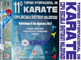 De nueva cuenta, se llevará a cabo el Torneo Internacional de Karate Copa – Escuela Shotokan Maldonado, en Uruguay, evento que por su importancia ha sido declarado por las autoridades como de Interés Departamental.