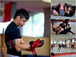 El Centro Nacional de Desarrollo de Talentos Deportivos y Alto Rendimiento (CNAR), compartió sus instalaciones con el equipo profesional de Artes Marciales Mixtas (MMA, por sus siglas en inglés).