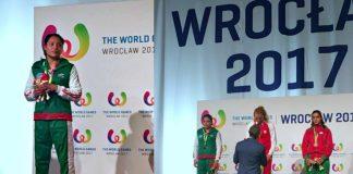 En un hecho histórico para el kickboxing de México, Melissa Martínez Aceves conquisto la medalla de plata durante su participación en los World Games Wroclaw 2017, en Polonia, con lo que se convirtió en la primera mujer en subir al podio de la competencia mundial más importante luego de Juegos Olímpicos.