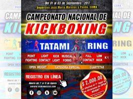 Atletas de diferentes estados del país se preparan para el Campeonato Nacional de Kickboxing en la Ciudad de México, el cual será parte del proceso selectivo para conformar a la Selección Nacional en torneos internacionales de 2018.