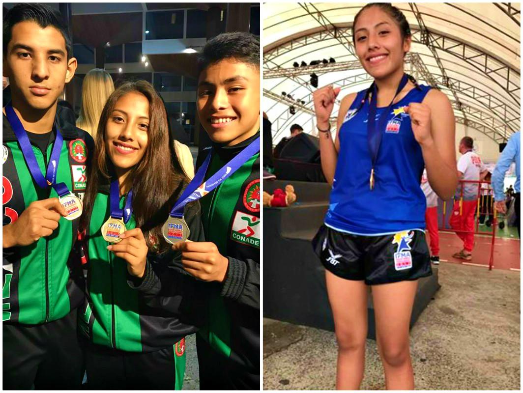 La Selección Mexicana de Muaythai logró ganar la medalla de oro y bronce en competencia de combate, así como otra de plata por la mejor ceremonia previa a una pelea en el Campeonato Mundial Juvenil Tailandia 2017.