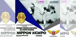 La Secretaría de Seguridad Pública de la Ciudad de México (SSP-CDMX), celebrará el 1er Torneo Nacional de Cintas Negras de Nippon Kempo, cuyo objetivo será dar a conocer la disciplina entre los uniformados y despertar su interés a fin de que lo practiquen.