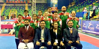 Tres medallas de oro, dos de plata y tres más de bronce fueron obtenidas por la Selección Mexicana de ParaTaekwondo, en lo que fue su primer evento como equipo nacional en el Abierto ParaPanamericano de Costa Rica.