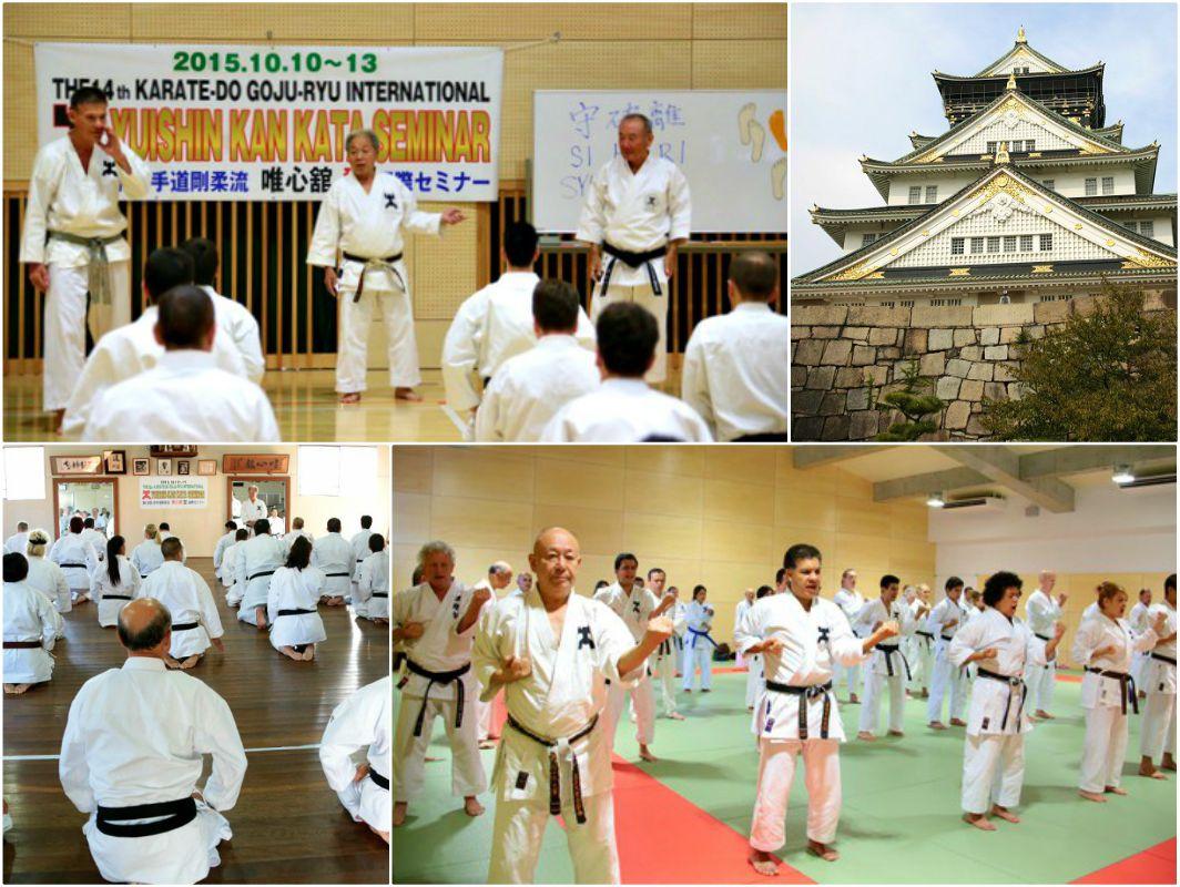 Practicantes y personas interesadas en conocer y seguir el 'Camino de la Mano Vacía' en la misma región donde fue creado, podrán cumplir este deseo en el 15º Seminario Internacional de Kata Yuishinkan Goju Ryu Karate Do, mismo que se realizará en Osaka, Japón, del 6 al 10 de octubre, del presente.
