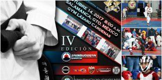 Organizaciones de trabajadores, empresas productivas, turísticas y autoridades del deporte municipal de Salamanca, Guanajuato, se unieron en apoyo del IV Campeonato de Artes Marciales Gold Star, donde ese espera la participación de competidores de diferentes estados del país.