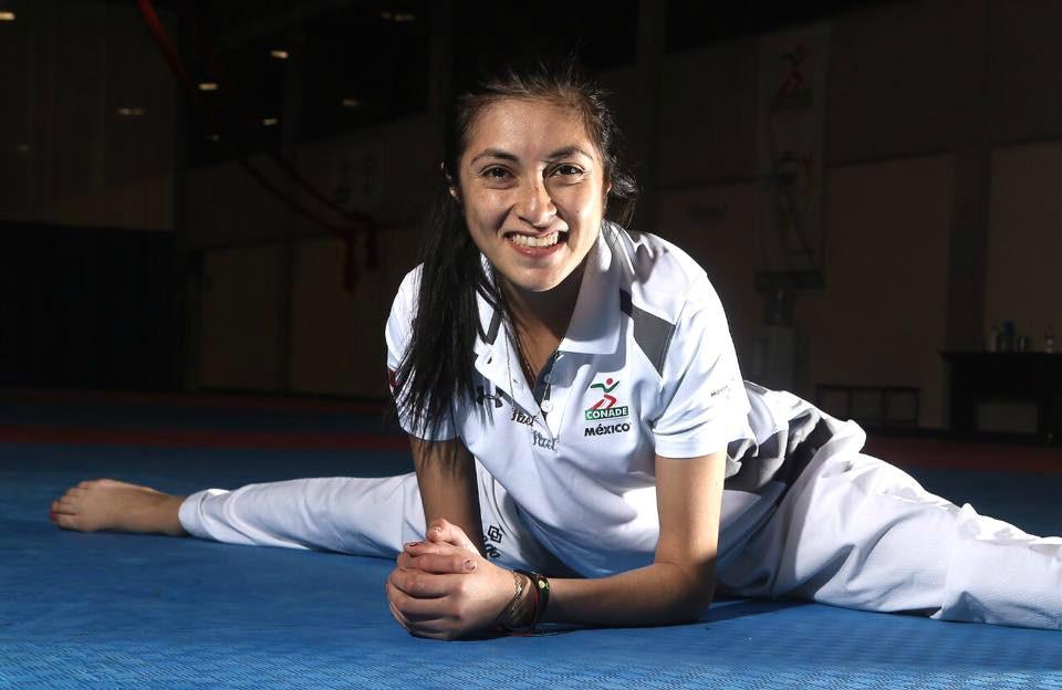 La taekwondoin Itzel Manjarrez fue designada como abandera de la delegación mexicana que participará en la Universiada Mundial, la cual se realizará del 19 al 30 de agosto enTaipéi, China.