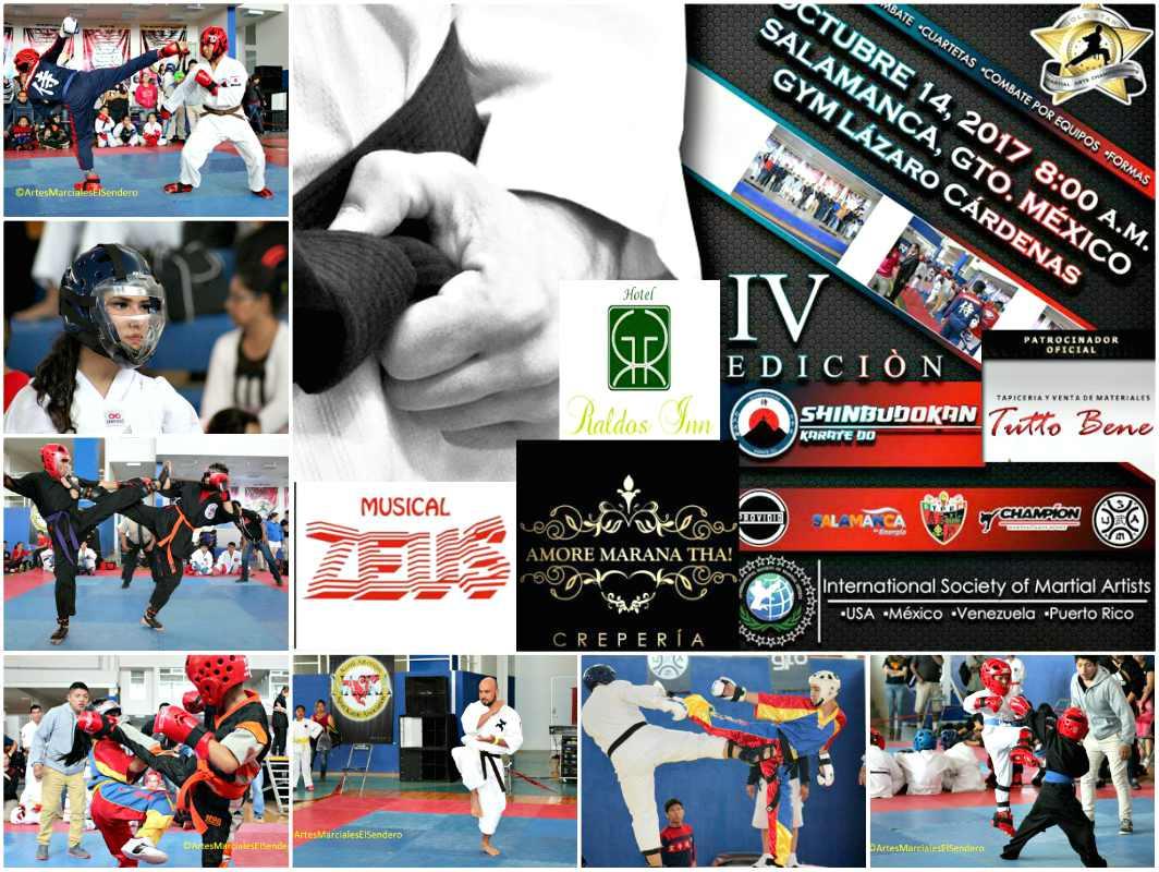 El IV Campeonato de Artes Marciales 'Gold Star' 2017, en Salamanca, Guanajuato, cobró mayor atracción al darse la noticia de que además de la premiación especial, se otorgarán premios en efectivo para los campeones absolutos de ciertas categorías.