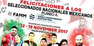 Con la determinación de conquistar la primera medalla para México en el Campeonato Mundial de Artes Marciales Mixtas Amateur 2017, los atletas que conforman la Selección Mexicana se preparan para estar a más del cien por ciento para este reto en Banhréin.