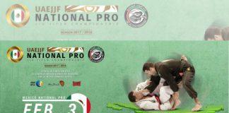 El territorio azteca será sede del México National Pro 2018, uno de los circuitos y campeonatos profesionales de jiujitsu más importantes del mundo que forma parte del Abu Dhabi Grand Slam Jiu-Jitsu World Tour.