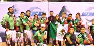 Una destacada actuación tuvo el equipo mexicano que participó en el World Championship WKU Irlanda 2017, torneo de artes marciales donde conquistó 32 medallas y un cinturón de campeonato, con lo que se logró el 11º lugar del medallero general, entre 26 países.