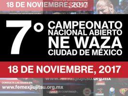 Los ganadores de la categoría adultos del 7º Campeonato Nacional Abierto de Ne Waza 2017, podrán obtener la inscripción al torneo Abu Dhabi-México National Pro Gi 2018, anunció la Federación Mexicana de Jiujitsu (FEMEXJIUJITSU).