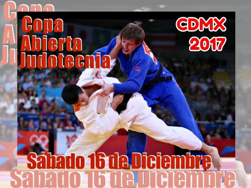 Uno de los torneos para fogueo de judo más representativos de la zona centro del país, la Copa Judotecnia 2017 ya tiene fecha para llevarse a cabo en la Ciudad de México, en donde se espera que acudan cientos de practicantes que buscan foguearse ante rivales de primer nivel.