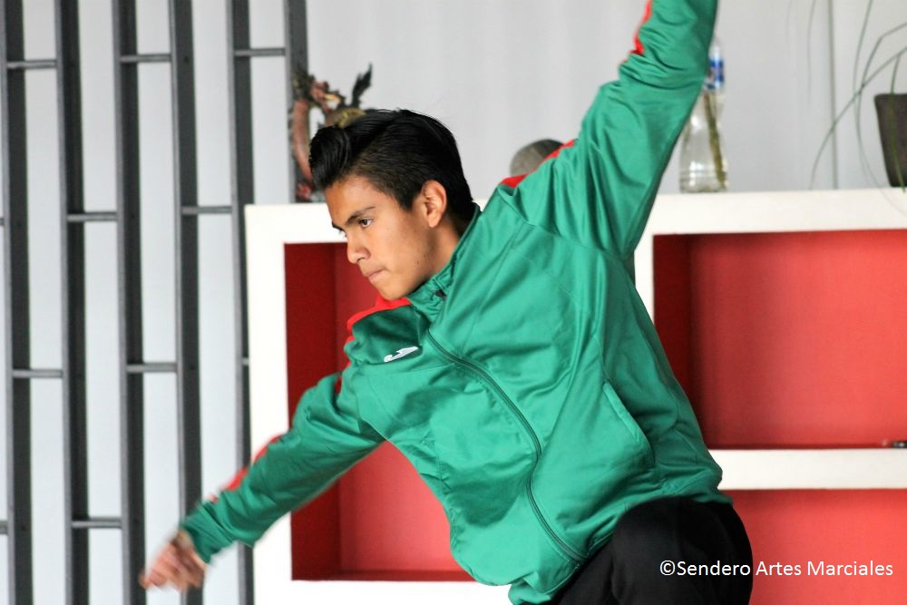 Mario Alberto Balderas, Seleccionado Nacional Wushu Kung Fu.