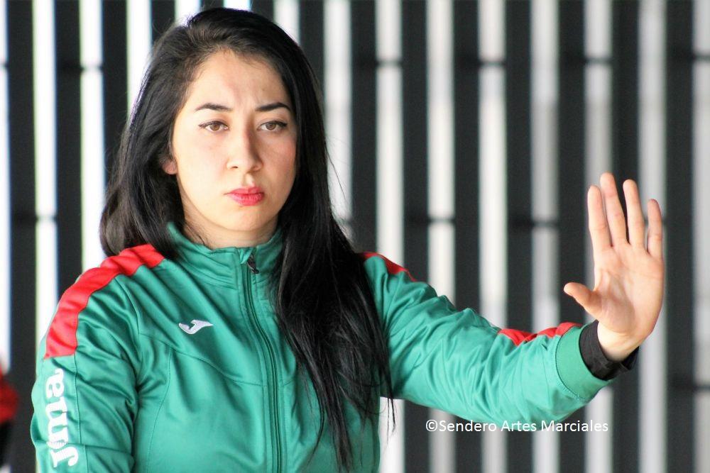 Pamela Guillén, Seleccionada Nacional Wushu Kung Fu