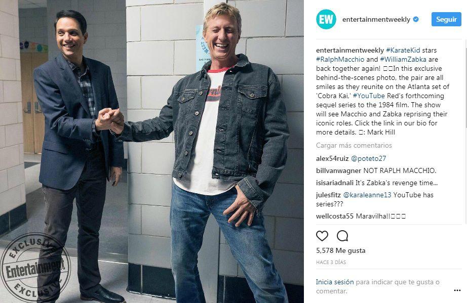 Imagen Instagram Entertainment Weekly