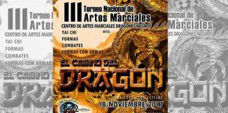 """La organización Dragones Negros llevará a cabo su III Torneo Nacional """"El Camino del Dragón"""" de Artes Marciales Chinas Wushu y Taichí, al cual fueron invitados todos los practicantes de estas disciplinas."""