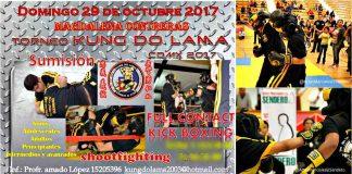 Luego de que se determinó posponer el Torneo de Contacto Completo Kung Do Lama por respeto y para apoyar a los afectados por el terremoto del 19 de septiembre, ya tiene nueva fecha para este evento que contará con pelas de grappling, full contact, shootfighting y kickboxing.