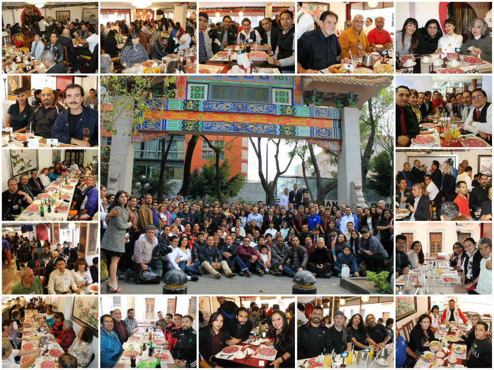 """Por quinto año consecutivo, se realizará la Comida de Fin de Año para Maestras y Maestros de Artes Marciales de México, donde además de convivir y compartir """"el pan y la sal"""", se busca fortalecer lazos de amistad, crear y desarrollar proyectos el próximo año 2018."""