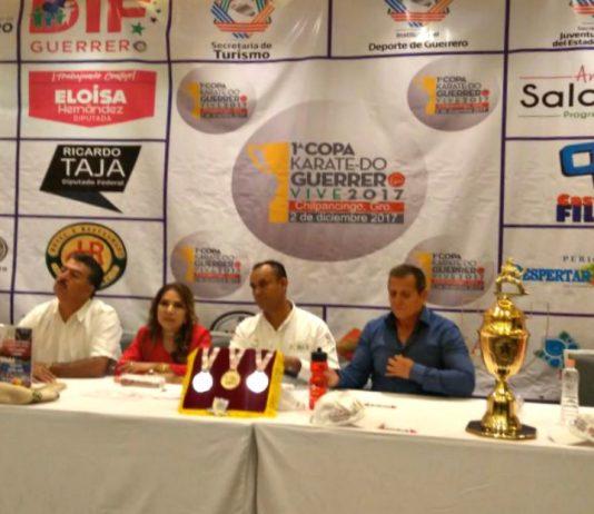 La '1ª Copa Karate Do Guerrero Vive' será un evento para detonar el turismo deportivo en la ciudad de Chilpancingo y todo el estado, desde donde se promoverá a nivel internacional con apoyo de autoridades estatales y municipales, así como sectores empresariales.