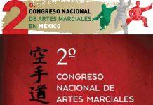 Con la participación de expertos en artes marciales enfocadas a los campos de la superación personal, seguridad pública, psicología deportiva, defensa personal y otras áreas, este viernes 17 y sábado 18 de noviembre se realizará el 2º Congreso Nacional de Artes Marciales en la Ciudad de México.