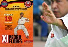 Con gran ánimo se espera la XXXII Campeonato de Invitación Shotokan Karate-Do México y XI Copa Pedro Flores que se realizará en la ciudad de Puebla, a donde se esperan cerca de 300 competidores de primer nivel y con lo cual se fortalecen las acciones para promover esta disciplina en la región.