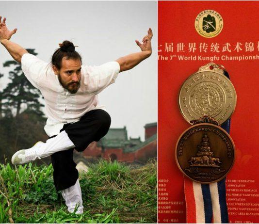 La Selección Mexicana de Wushu logró ganar una medalla de plata y otra de bronce en el 7th World Kungfu Championships, ambas ganadas por Leonel Pedraza, en el evento mundial realizado en Emeishang, China.