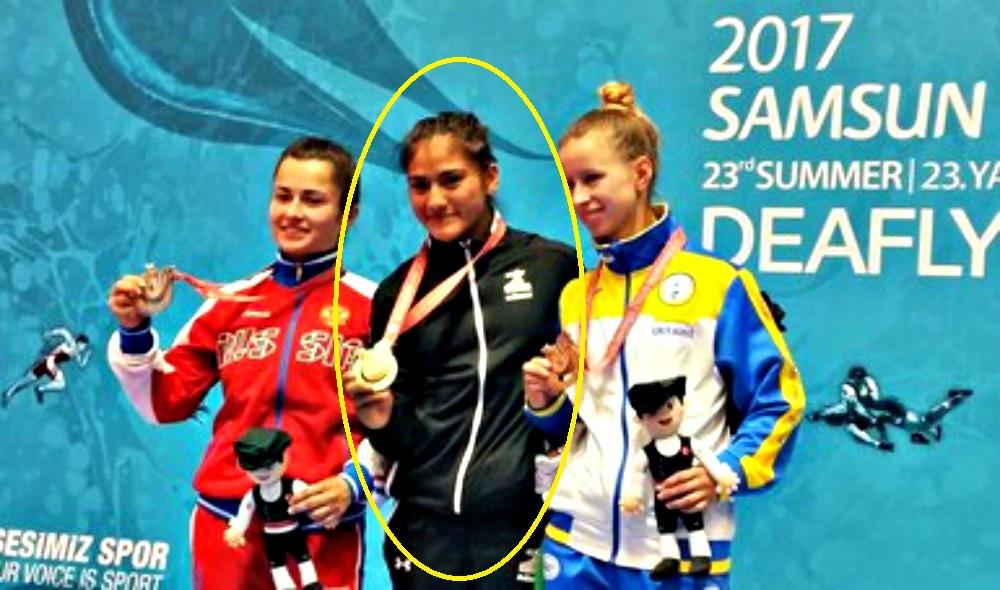 María Isabel Huitrón, atleta sorda de judo que ganóla primera medalla de oro en la historia de México en las Sordolimpiadas Turquía 2017, ganó el Premio Nacional de Deportes en la modalidad de Deporte paralímpico. El empresario Carlos Slim Helú fue reconocido 'Por fomento, la protección o el impulso de la práctica de los deportes'.