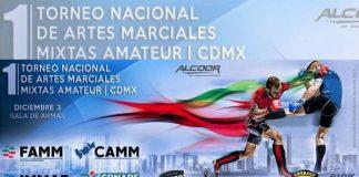 """La Ciudad de México será sede del """"1er Torneo Nacional de Artes Marciales Mixtas Amateur"""", en el cual podrán participar practicantes no profesionales de todo el país, mismos que tendrán la oportunidad de iniciar una carrera dentro de este deporte."""