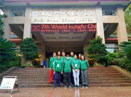 Luego de una serie de dilemas para conseguir recursos económicos para financiar su participación en el 7th World Kungfu Championships, integrantes de la Selección Mexicana ya se encuentran en Emeishan, Shichuan, China.