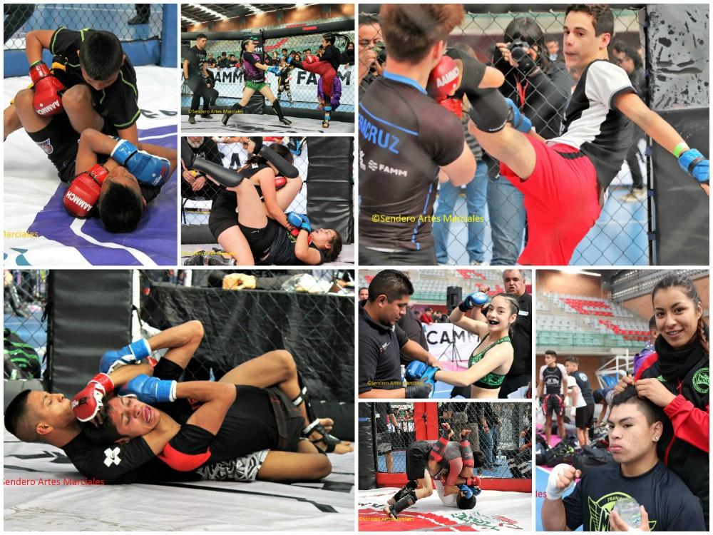 Con más de mil atletas que compitieron dentro de jaulas, la Ciudad de México fue sede del 1er Torneo Nacional de Artes Marciales Mixtas Amateur, evento que ha sido considerado el más grande del país y el mundo de este tipo.
