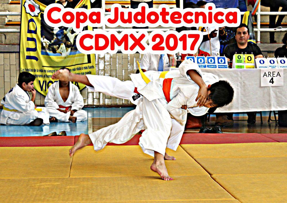 Cada día se acerca más la fecha para el torneo de fogueo de judo más importante y tradicional en la Ciudad de México, la Copa Judotecnica 2017, por lo que está por completarse la inscripción de los 500 competidores contemplados para participar en esta fiesta del arte de la suavidad.