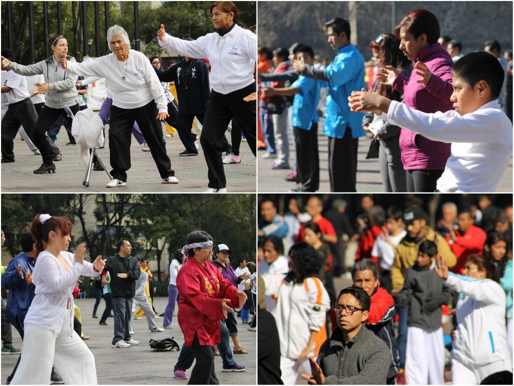 Todo se encuentra listo para la primera clase abierta a todo público del Movimiento México Unido por el Taichí, con lo que se busca difundir una actividad física para mantener la salud y evitar enfermedades que son emergencia sanitaria, así como promover la equidad y la paz.