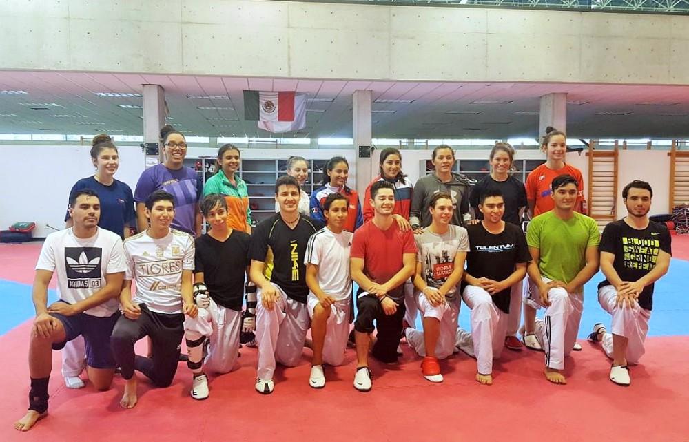 La selección nacional de taekwondo retomó sus entrenamientos en las instalaciones del Centro Nacional de Desarrollo de Talentos Deportivos y Alto Rendimiento (CNAR), con la meta de conseguir 21 pases a los Juegos Centroamericanos y del Caribe Barranquilla 2018 y conquistar las 12 medallas doradas en dicha justa.