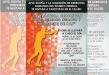 """La asociación APIC Utopía, en conjunto con la Comisión de Derechos Humanos del Distrito Federal (CDHDF), ofrecerán el taller abierto y gratuito """"La práctica deportiva como un derecho humano y herramienta de desarrollo"""", el cual busca que profesores e instructores de artes marciales sean pieza clave para difundir la práctica del deporte como uno de los derechos humanos para trasformar y mejorar la vida de las personas."""