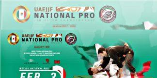 Competidores de más de ocho países de América y Europa se alistan para ser parte Del Mexico National Pro Jiu-Jitsu Championship - Gi, el cual se realizará en la Ciudad de México (CDMX) y será puntuable para ser parte del Abu Dhabi World Professional Jiu-Jitsu Championship 2018, en Emiratos Árabes Unidos.