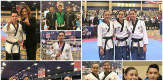Destacados resultados han logrado integrantes de la Selección Mexicana de Taekwondo que acudieron al torneo Open Las Vegas 2018, donde han logrado conquistar al menos 10 medallas de oro, 1 de plata y tres más de bronce, en este evento que concluye el próximo 2 de febrero.