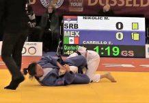 En el primer día de actividades del Grand Slam Dusseldorf, Alemania 2018, la judoca Edna Carrillo fue la mexicana mejor colocada en la tabla de posiciones al ubicarse en el 5º lugar de su categoría.