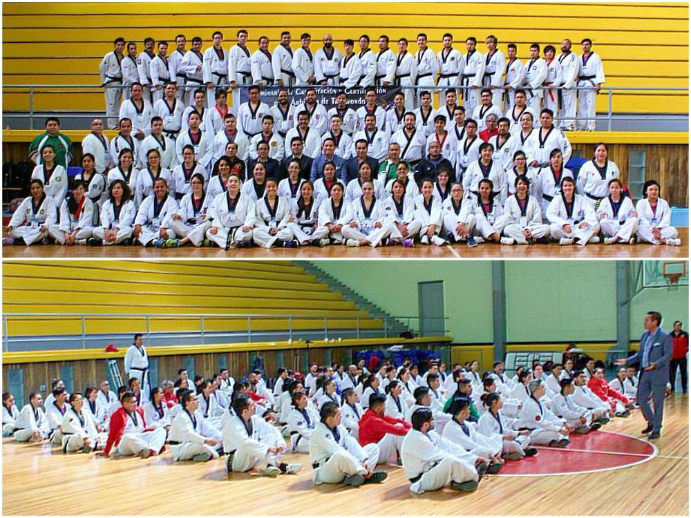 La Asociación Capitalina de Taekwondo A.C. (ACTKD) fue la anfitriona del Seminario de Capacitación y Certificación para Árbitros de la Federación Mexicana de Taekwondo (FMTKD), cuyos conocimientos serán aplicados sobre los tatamis en la Olimpiada Nacional y Nacional Juvenil 2018.