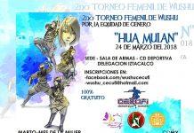 """La Sala de Armas de la Magdalena Mixihuca en la Ciudad de México será escenario del """"2º Torneo Femenil de Wushu 'Hua Mulan', por la Equidad de Género"""", se realizará dentro del marco de conmemoración por el Día Internacional de la Mujer."""