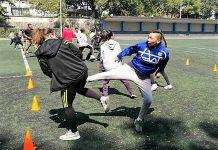 Integrantes de la Asociación Capitalina de Taekwondo (ACTKD) llevan a cabo un entrenamiento de alto rendimiento en la Escuela Nacional de Entrenadores Deportivos (ENED), a fin de prepararse al cien por ciento para el próximo torneo Regional de Olimpiada Nacional y Nacional Juvenil 2018.